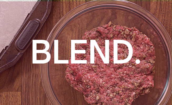 The Blend Step two - BLEND