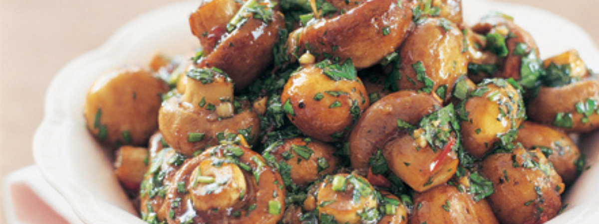 Balsamic Marinated Mushroom Recipe