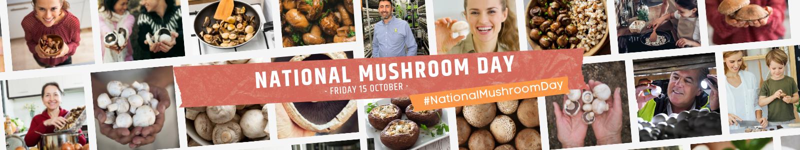 National Mushroom Day - October 15